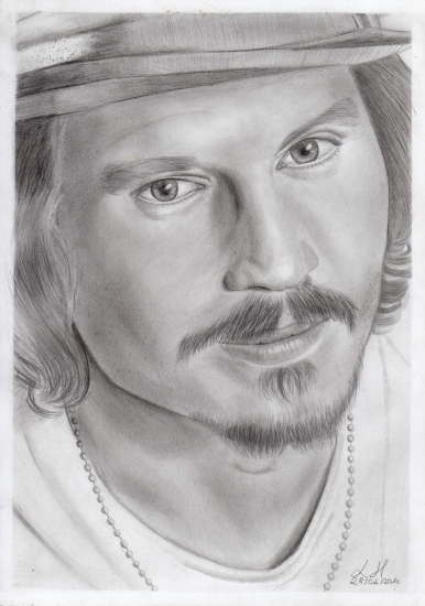 Johnny Depp por Lemik90